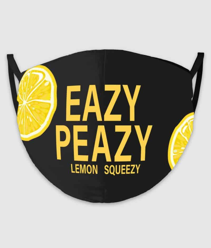 comkean-facemask-eazy peazy-black