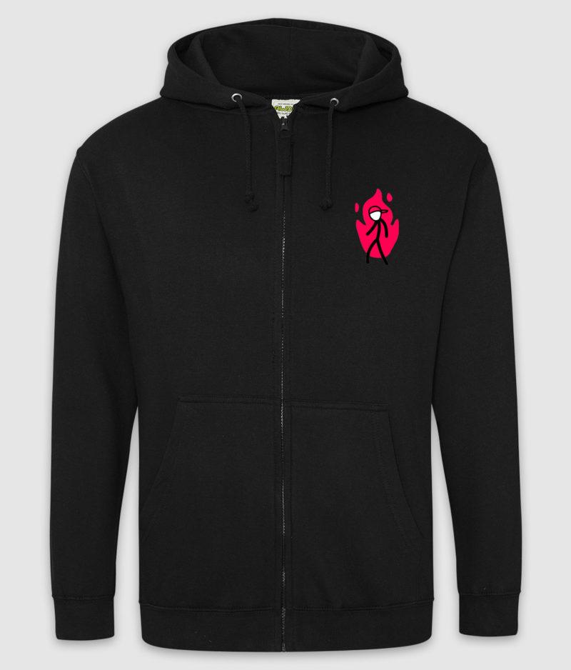 kakio-hoodie-zip-bloodmoon-jet black-1-1-mockup