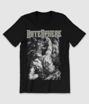 hatesphere-tshirt-ox eats man-black-front