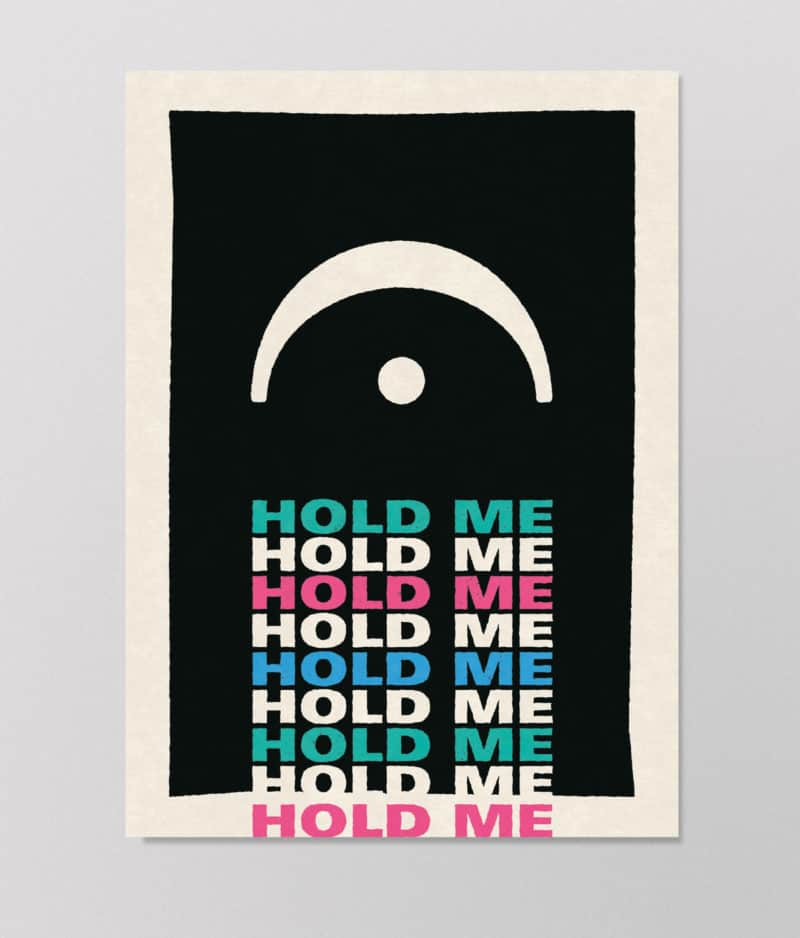 Det Kulørte Udvalg – Hold me (plakat)