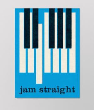 Det Kulørte Udvalg – Jam straight (plakat)