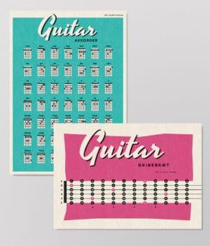 Det Kulørte Udvalg - Musikpakken – Guitarpakken