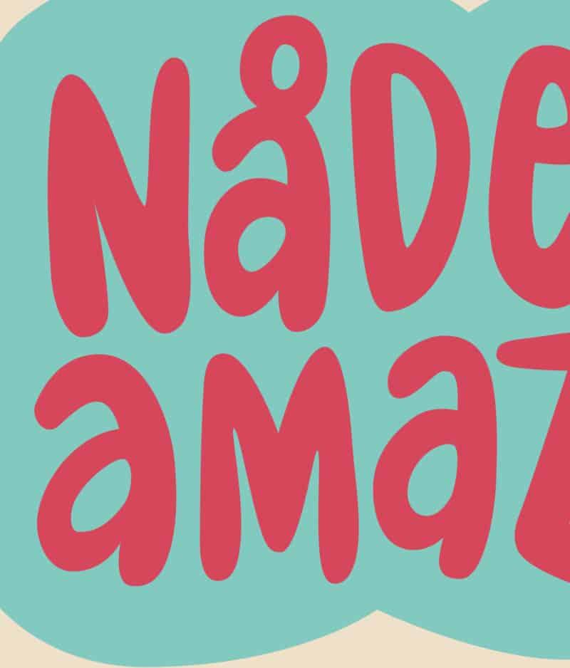 Det Kulørte Udvalg – Nådesløs amazone (plakat)