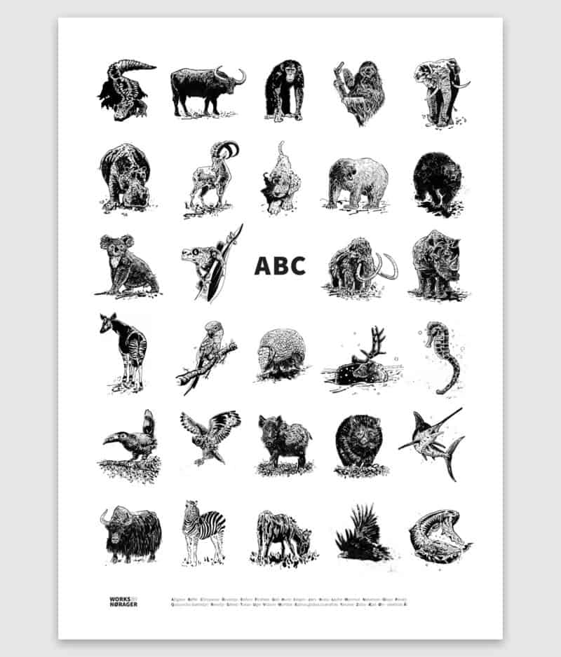 works by norager-poster-abc