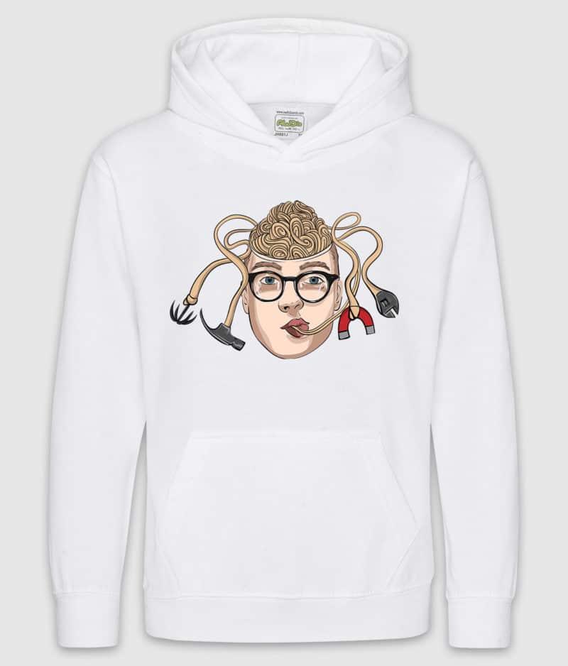 matzen-hoodie kids-nudel-arctic white-front