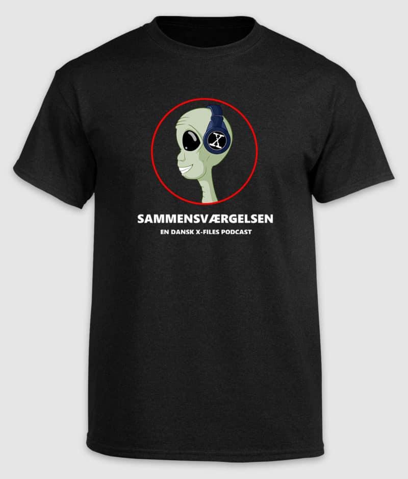 Sammensværgelsen - Alien Logo - T-shirt