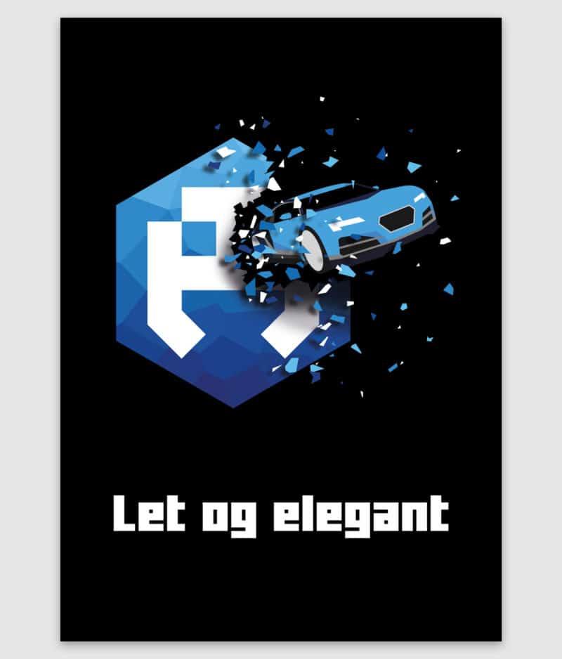 dengodk-poster-let og elegant-a2