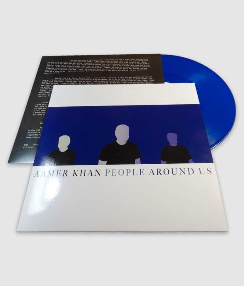 aamer khan-people around us-vinyl-collage