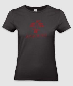 michael falch-de vildeste fugle-tshirt-ladies-black-front