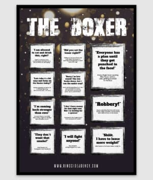 ringside agency-poster-the boxer