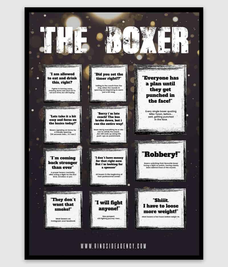 ringside agency-poster-the boxer