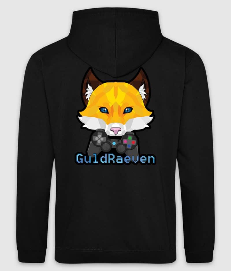 guldraeven-logo-hoodie-jet black-back