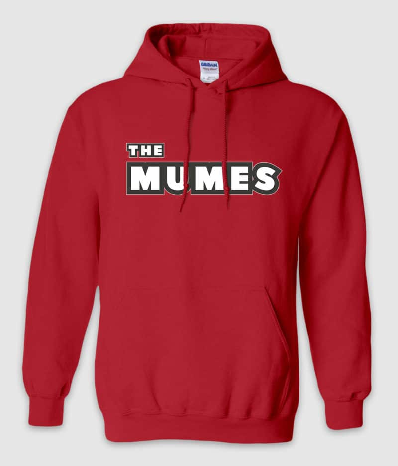 THE MUMES - Hoodie - Red