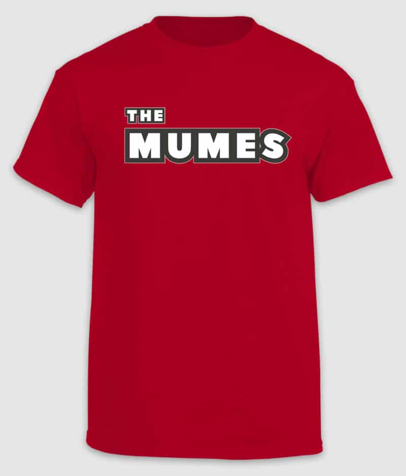 The MUMES - T-Shirt - Red