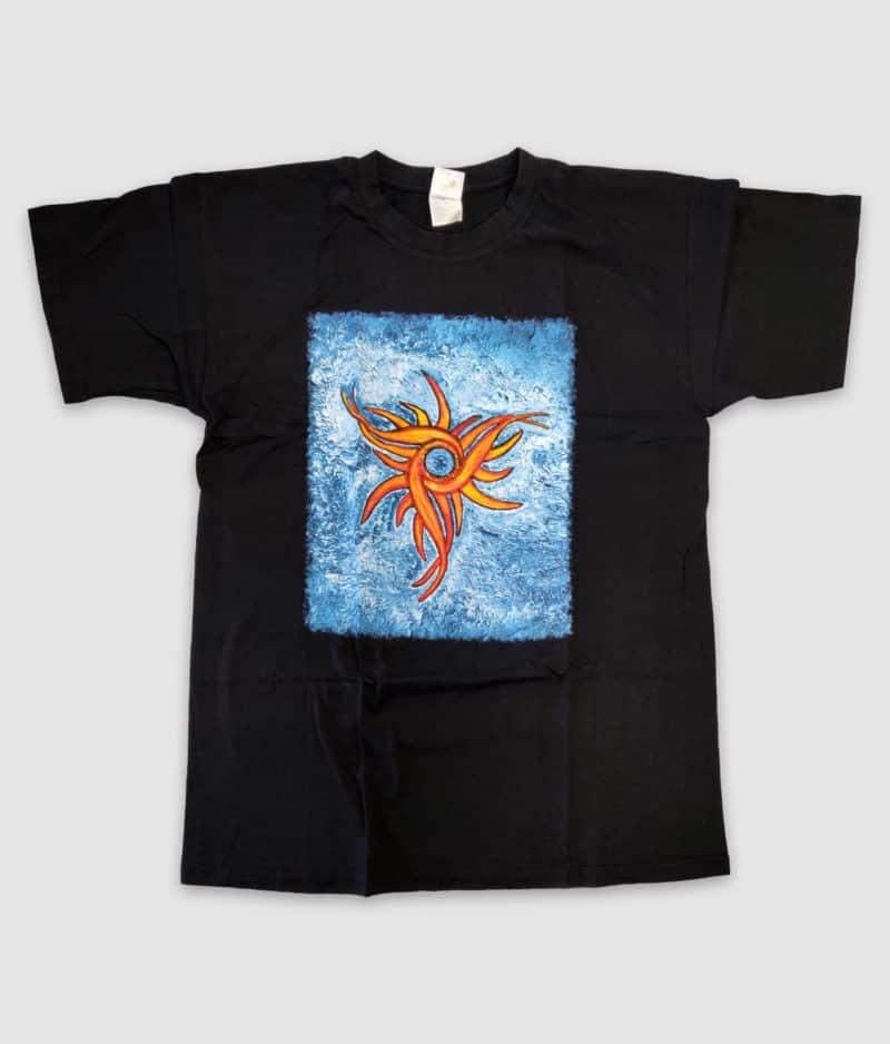 lars lilholt-amulet-tshirt-black-front