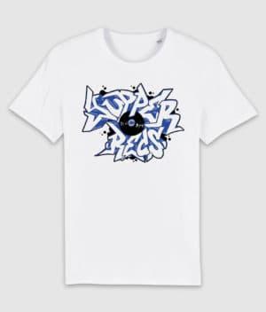 yupper recs-tshirt-logo-white-front