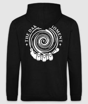 tdm-hoodie-blindsight-jet black-white print-back