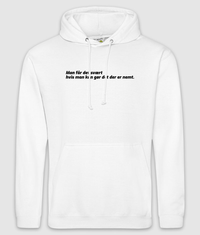 matzen-man faar det svaert-hoodie-arctic white-front