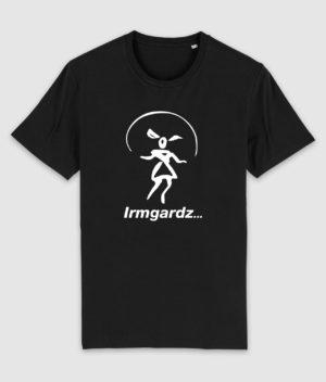 irmgardz-logo-tshirt-black-front