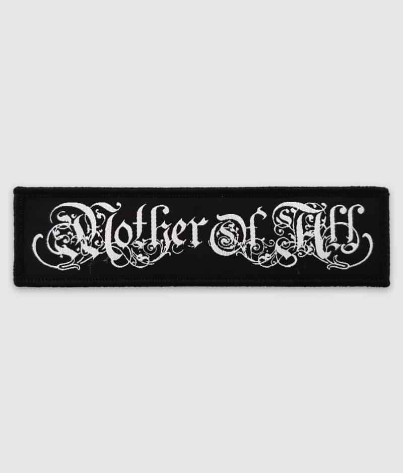 mother of all-logo-patch